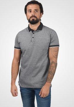 Solid - Poloshirt - black melange