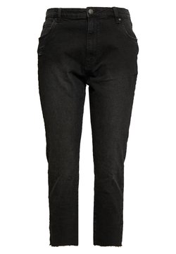 Cotton On Curve - CURVE TAYLOR MOM - Relaxed fit jeans - black