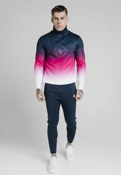 SIKSILK - Sweatshirt - navy/pink/white