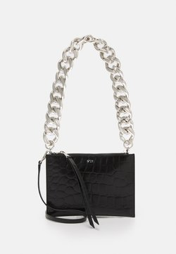 N°21 - SMALL ZIPPED POUCH - Clutch - black