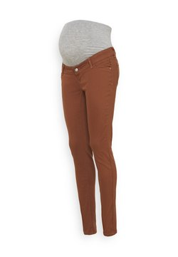 MAMALICIOUS - MLAMALFI COLOR - Jeans Skinny - friar brown
