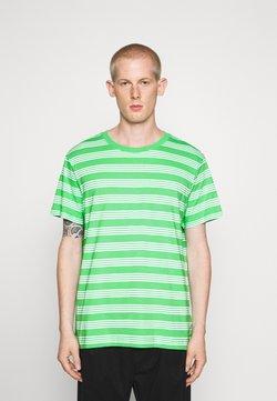 Weekday - STRIPE - T-shirts med print - light green