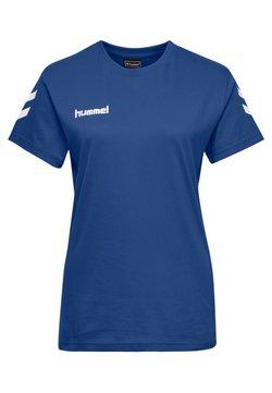 Hummel - GO WOMAN - T-shirt print - true blue