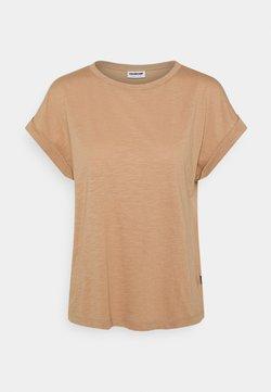 Noisy May - NMMATHILDE O NECK - T-Shirt basic - praline