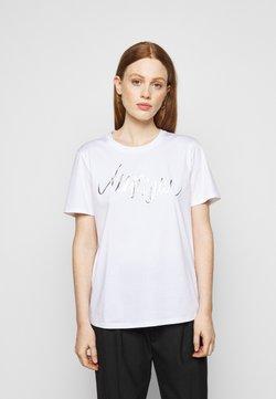 Marc Cain - T-Shirt print - white