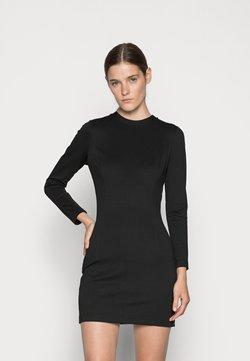 Calvin Klein Jeans - MILANO SIDE LOGO TAPE DRESS - Vestido ligero - black
