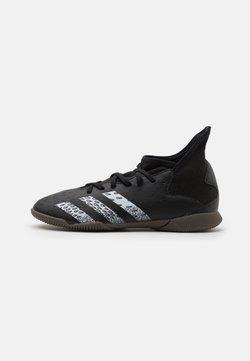 adidas Performance - PREDATOR FREAK .3 IN UNISEX - Botas de fútbol sin tacos - core black/footwear white