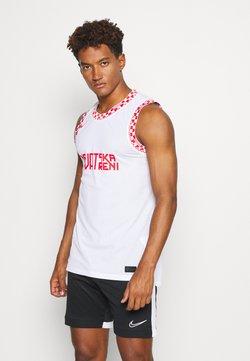 Nike Performance - KROATIEN - Klubbkläder - white/crimson