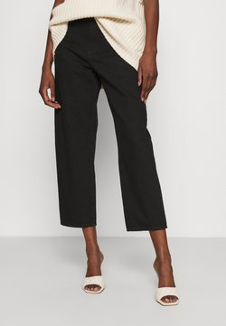 Lindex - TROUSERS BALLON  - Relaxed fit jeans - black