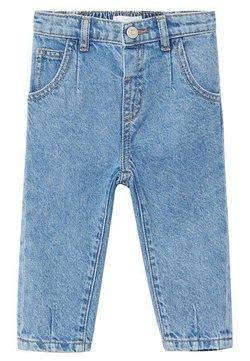 Mango - SLOUCHY - Straight leg jeans - middenblauw
