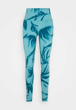 Under Armour - MERIDIAN PRINTED - Tights - legion blue