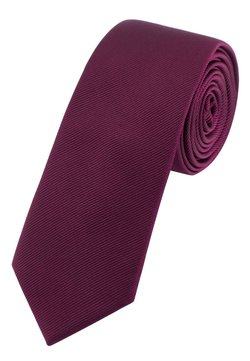 Next - SLIM  - Krawatte - dark purple