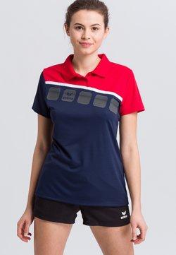 Erima - Funktionsshirt - navy/red/white