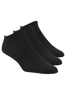 Reebok - REEBOK  MENS INSIDE THIN SOCK - Varrettomat sukat - black