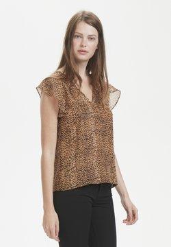 InWear - Bluse - light brown animal