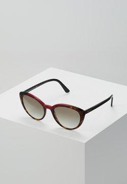 Prada - Lunettes de soleil - black/brown