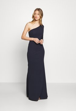 WAL G. - ONE SHOULDER MAXI DRESS - Ballkleid - navy blue
