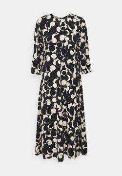 Marimekko - PEILAUS MURIKAT DRESS - Maxikleid - black/beige