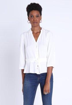 BONOBO Jeans - MIT GÜRTEL - Camisa - white