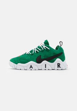 Nike Sportswear - AIR BARRAGE UNISEX - Trainers - clover/black/white/chile red