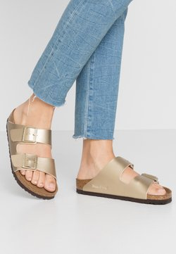 Birkenstock - ARIZONA - Tofflor & inneskor - gold