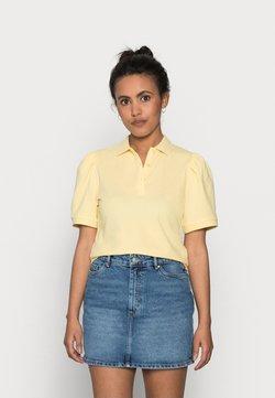 ONLY Petite - ONLJANET LIFE SHORT POLO TOP - Camiseta estampada - sunshine