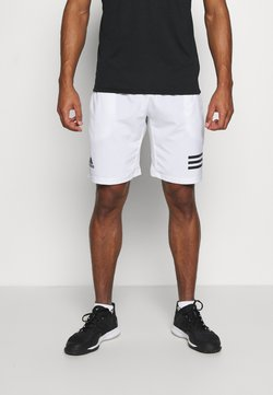 adidas Performance - CLUB SHORT - Träningsshorts - white/black