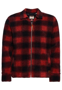 Superdry - Winterjacke - red check