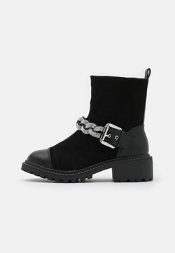 River Island Wide Fit - Santiags - black