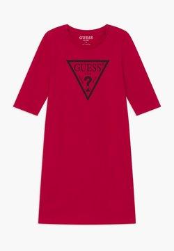 Guess - JUNIOR CORE - Robe en jersey - disco pink