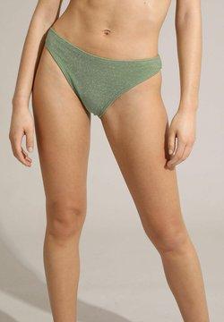 Pimkie - MIT PAILLETTEN - Bikinibroekje - grün