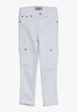 Blue Effect - GIRLS HIGH WAIST PANT CROPPED - Relaxed fit jeans - schneeweiß reactive