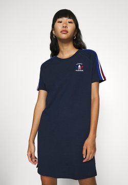 adidas Originals - STRIPES SPORTS INSPIRED REGULAR DRESS - Jerseyjurk - collegiate navy