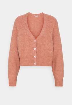 Gina Tricot - TILLY CARDIGAN - Gilet - rose dawn