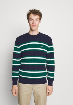 Lacoste - Strickpullover - navy blue/swing flour