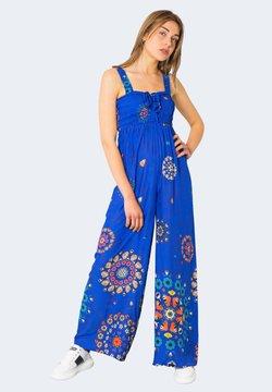 Desigual - Tuta jumpsuit - blue