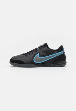 Nike Performance - TIEMPO LEGEND 9 ACADEMY IC - Halówki - black/iron grey