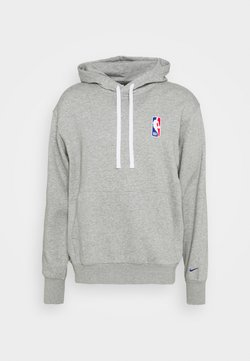 Nike Performance - NBA LOGO HOODIE - Hoodie - dark grey heather/rush blue