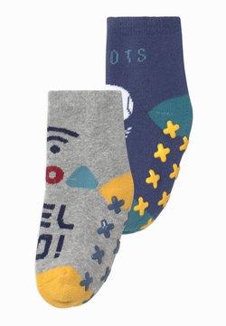 OVS - ANTISLIPPER BOY 2 PACK - Socks - blue indigo