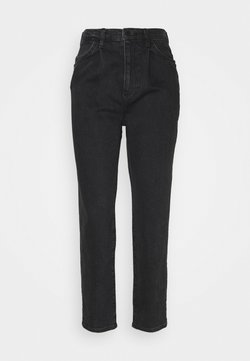 Gina Tricot - DRAMA PLEATED  - Jeansy Relaxed Fit - black snow