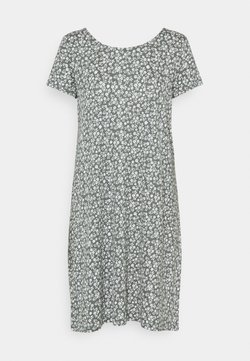 ONLY - ONLBERA BACK DRESS - Jerseykleid - balsam green