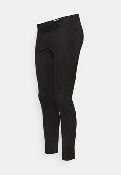 Pieces Maternity - PCMSEVAN - Leggings - Trousers - black