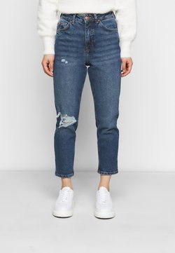 New Look Petite - BUSTED MOM LUCIOUS - Jeans relaxed fit - blue