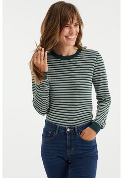 WE Fashion - Strickpullover - green