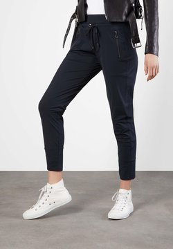 "MAC Jeans - DAMEN JOGPANTS ""EASY ACTIVE"" SLIM FIT - Jogginghose - dark blue"