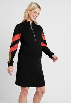 LOVE2WAIT - DRESS COLORBLOCK NURSING - Jerseyjurk - black