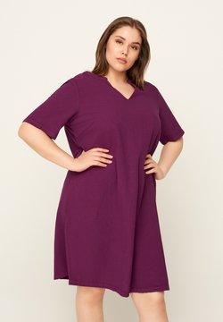 Zizzi - JHELLE - Vestido camisero - purple