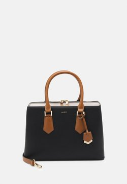 ALDO - BOZEMANI - Handbag - black/bone/tan