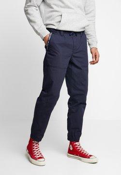 Tommy Jeans - PIECED JOG PANT - Jogginghose - black iris