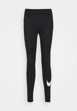 Nike Sportswear - Legging - black/white